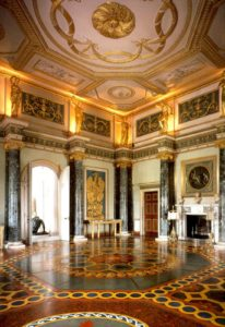 Scagliola 5 - columns in ante room of Syon House